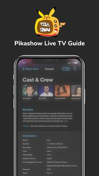 PikaShow Free Live TV Guide 2021 स्क्रीनशॉट 2