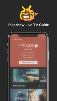 PikaShow Free Live TV Guide 2021 स्क्रीनशॉट 3