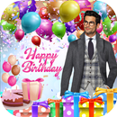 birthday photo frame with name and photo APK Android