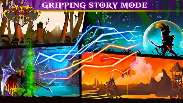 Demon Warrior Premium - Stickman Shadow Action RPG screenshot 10