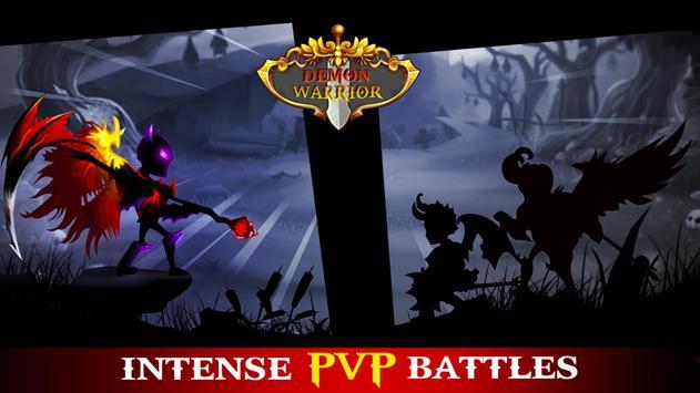 Demon Warrior Premium - Stickman Shadow Action RPG screenshot 1
