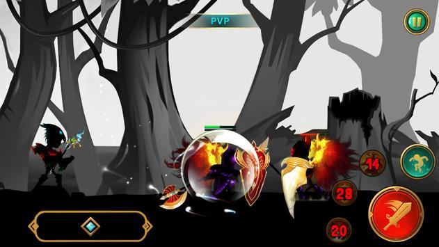 Demon Warrior Premium - Stickman Shadow Action RPG screenshot 2