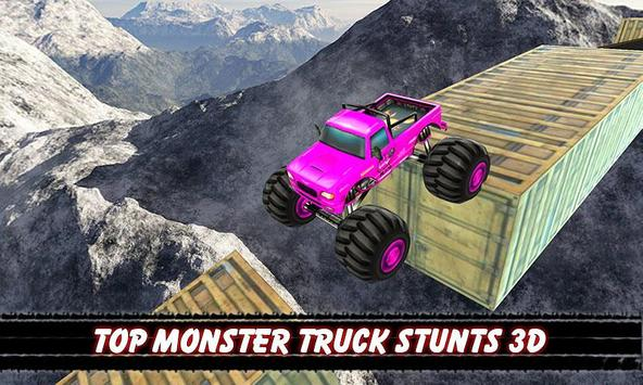 Impossible Monster Stunts Tracks Game poster