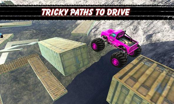 Impossible Monster Stunts Tracks Game screenshot 13