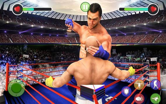 BodyBuilder Ring Fighting Club: Wrestling Games screenshot 12