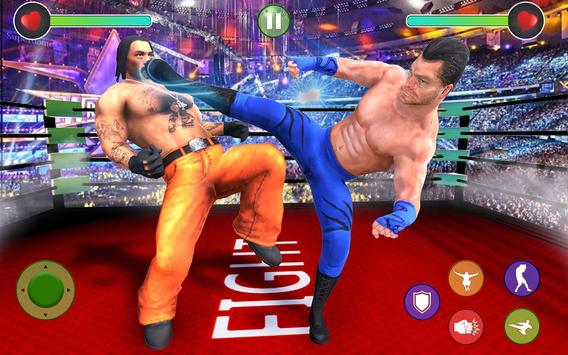 BodyBuilder Ring Fighting Club: Wrestling Games screenshot 1