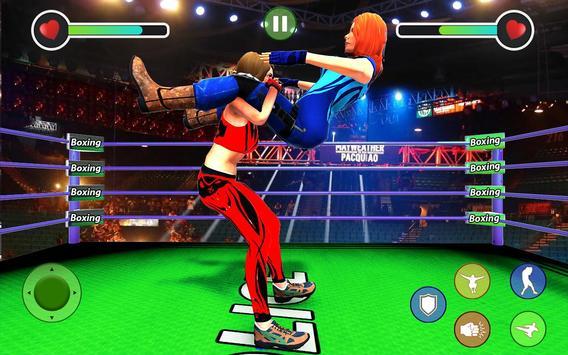 BodyBuilder Ring Fighting Club: Wrestling Games screenshot 3