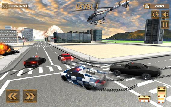 Extreme police GT car driving simulator screenshot 3