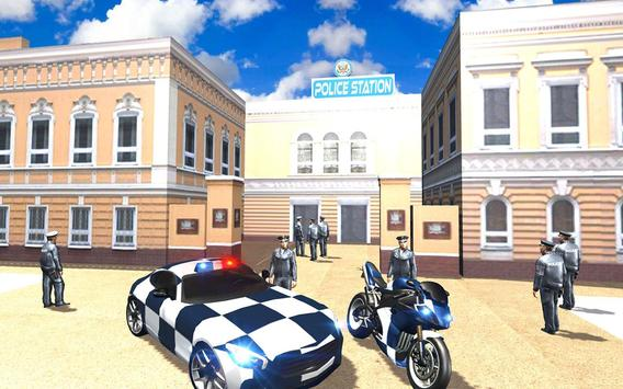Extreme police GT car driving simulator screenshot 1