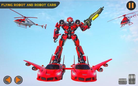US Police Multi Robot Transforming Game screenshot 11