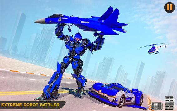 US Police Multi Robot Transforming Game screenshot 10