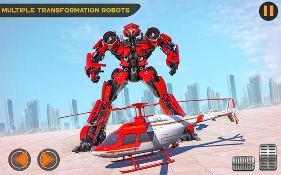 US Police Multi Robot Transforming Game poster