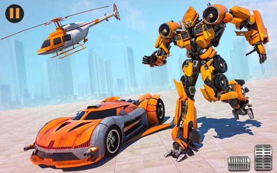 US Police Multi Robot Transforming Game screenshot 1