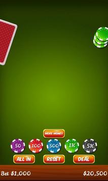 Blackjack 21 screenshot 1