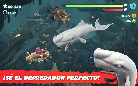 Hungry Shark captura de pantalla 19