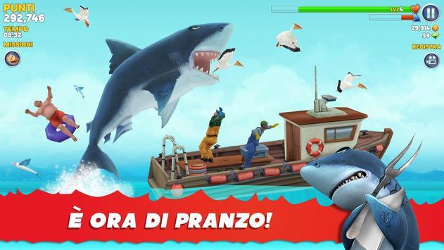 Poster Hungry Shark