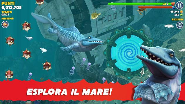 1 Schermata Hungry Shark