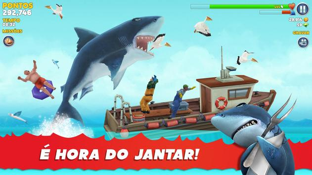 Hungry Shark Cartaz