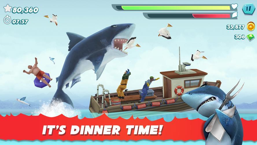 Terbaru, Hungry Shark  - APK Download Game Android Terbaru