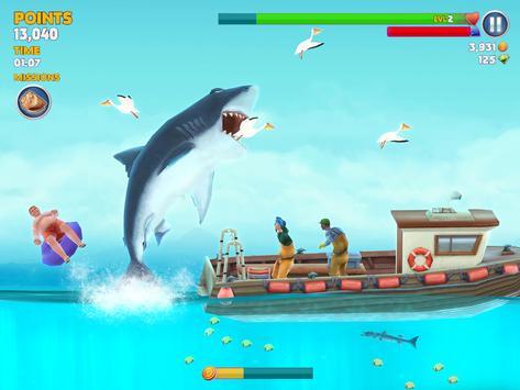 Hungry Shark captura de pantalla 15