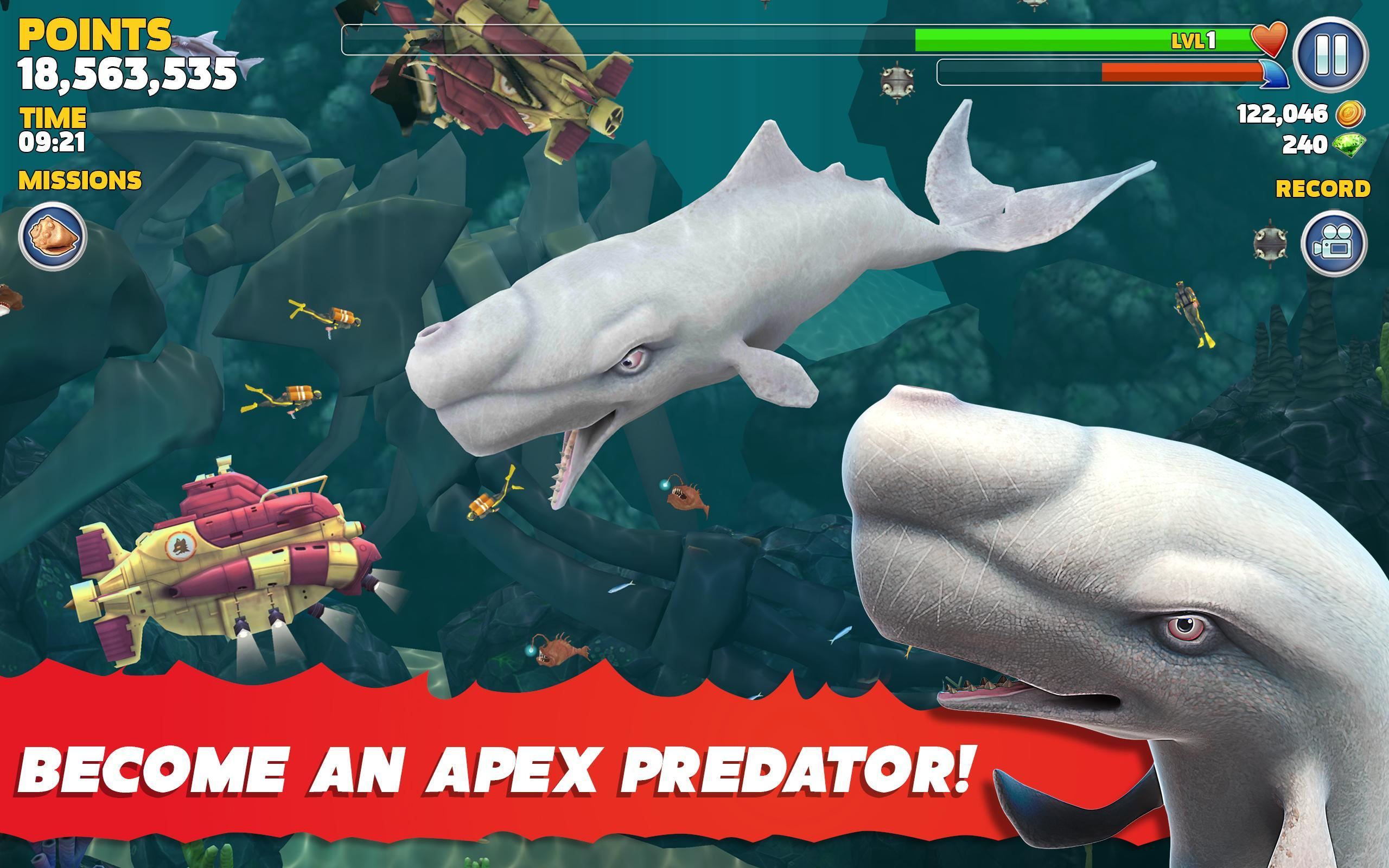 Hungry Shark for Android - APK Download