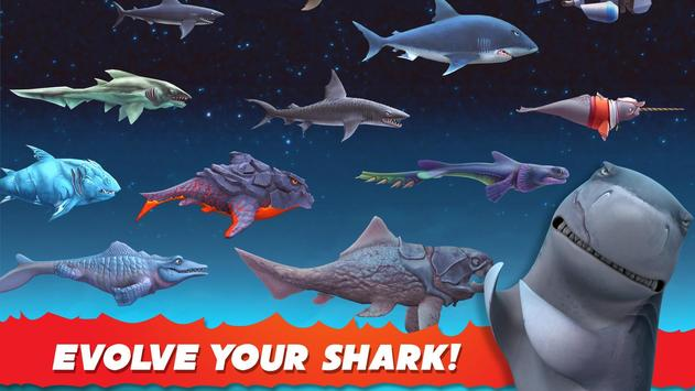 Hungry Shark captura de pantalla 1