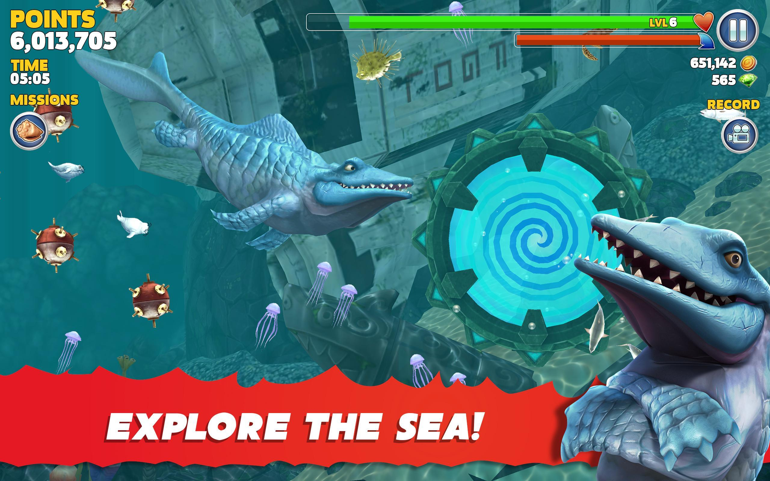 Hungry Shark for Android - APK Download -