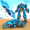 ikon Flying Police Eagle Bike Robot Hero: Robot Games