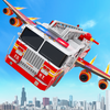 Icona Flying Firefighter Truck Transform Robot Games