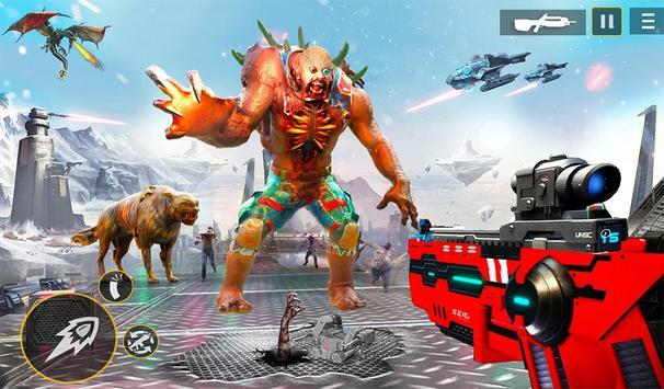 US Police Robot Zombie Shooter Robot Shooting Game screenshot 12