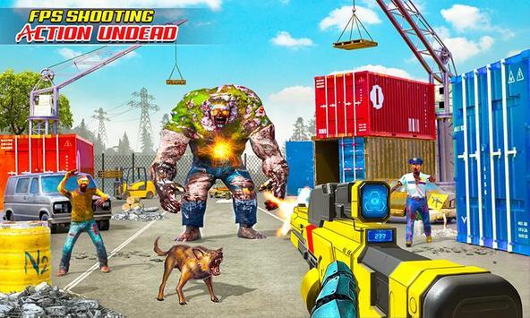 US Police Robot Zombie Shooter Robot Shooting Game screenshot 2