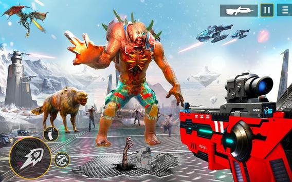 US Police Robot Zombie Shooter Robot Shooting Game screenshot 6