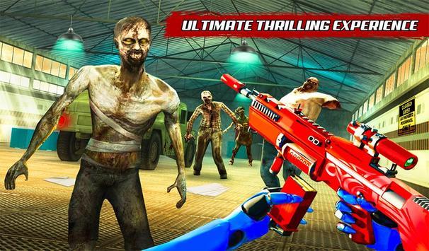 US Police Robot Zombie Shooter Robot Shooting Game screenshot 15