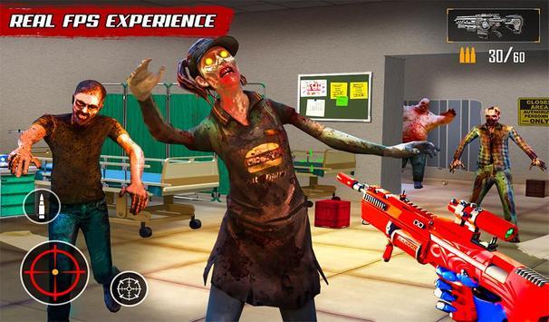 US Police Robot Zombie Shooter Robot Shooting Game screenshot 16