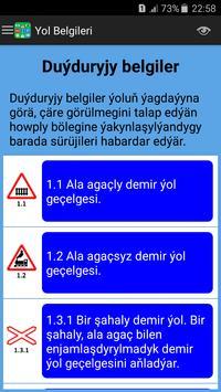Türkmenistan Ýol Belgileri we Kadalary screenshot 1