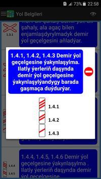 Türkmenistan Ýol Belgileri we Kadalary screenshot 2