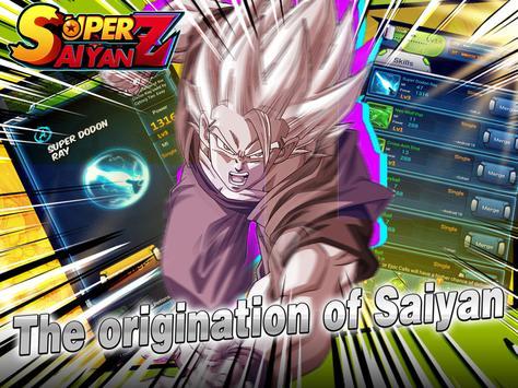 Saiyan Fighter - Dragon Battle captura de pantalla 8