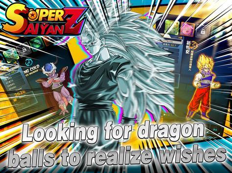 Saiyan Fighter - Dragon Battle captura de pantalla 9