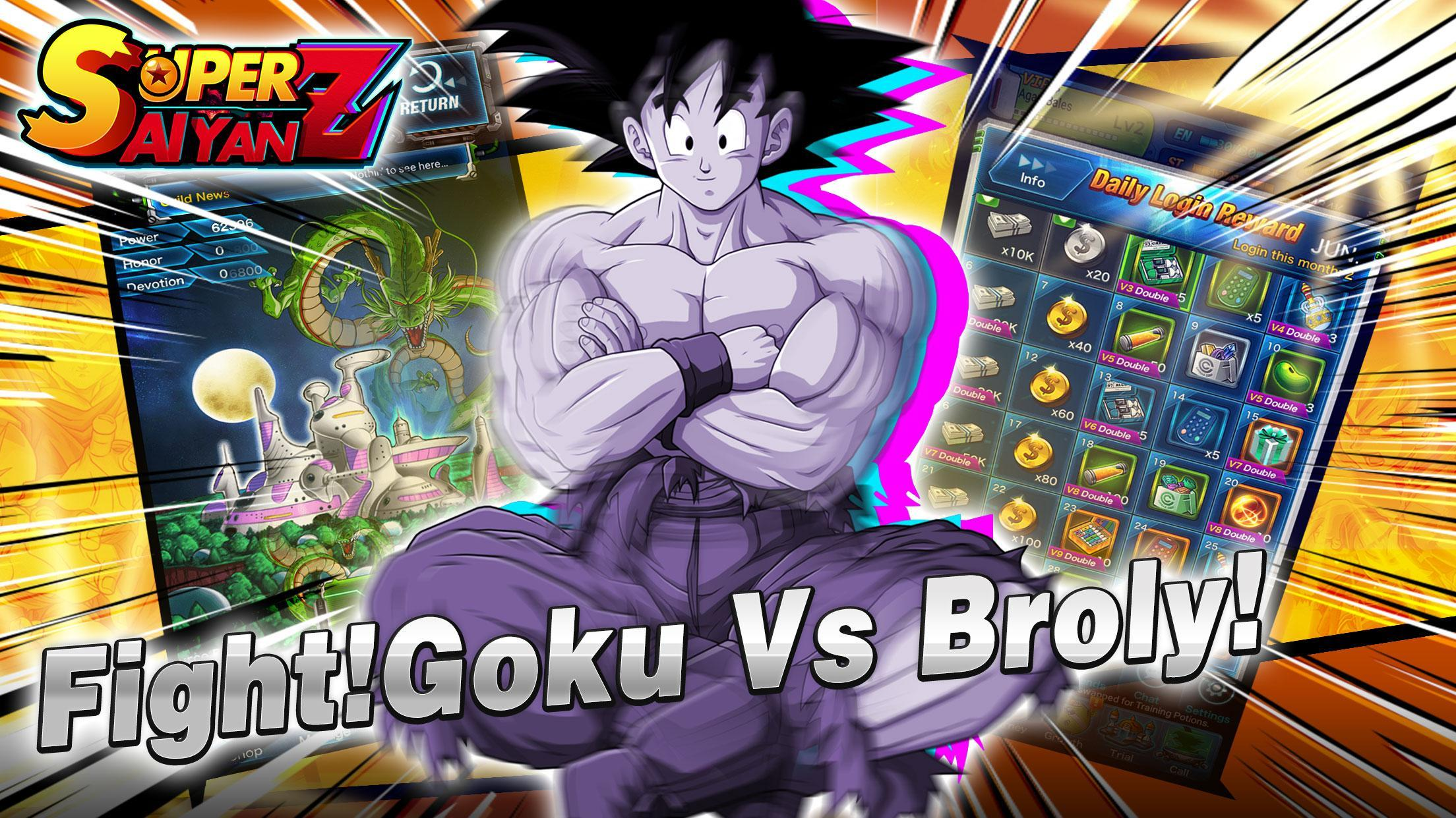 Saiyan Fighter - Dragon Battle (Unreleased) for Android - APK Download