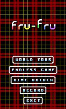 落ち物パズル Fru-Fru poster