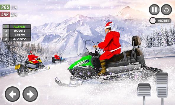 Santa Atv Snow Bike Racing 2020 : Quad Bike Race screenshot 4