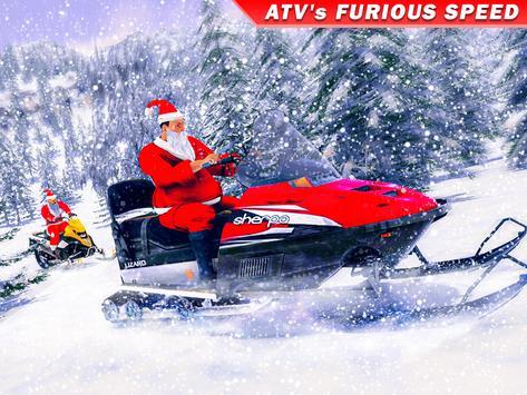Santa Atv Snow Bike Racing 2020 : Quad Bike Race screenshot 5