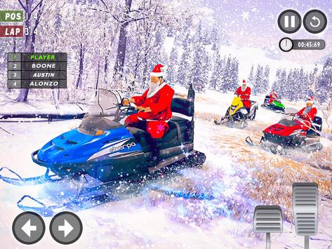 Santa Atv Snow Bike Racing 2020 : Quad Bike Race screenshot 6