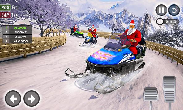 Santa Atv Snow Bike Racing 2020 : Quad Bike Race screenshot 3