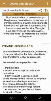 Lectionnaire Catholique скриншот 2