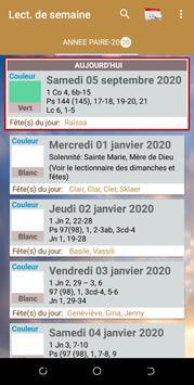 Lectionnaire Catholique скриншот 7
