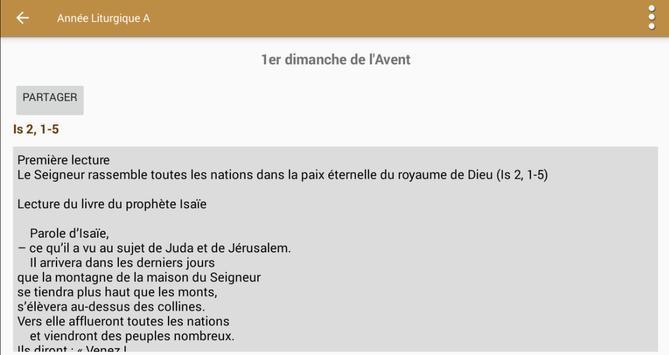 Lectionnaire Catholique скриншот 12