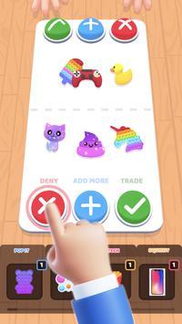 Fidget Toys Trading: fidget trade relaxing games screenshot 4