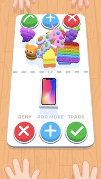Fidget Toys Trading: Jogo de Troca de Pop It imagem de tela 4