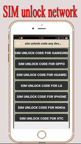 Sim Unlock Code Any Device for Android - APK Download